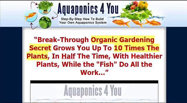 Aquaponics 4 You Review   Is Aquaponics 4 You As Good As It Sounds?   Aquaponics 4 You Honest Review