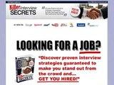 Killer Interview Secrets   75% Commission!