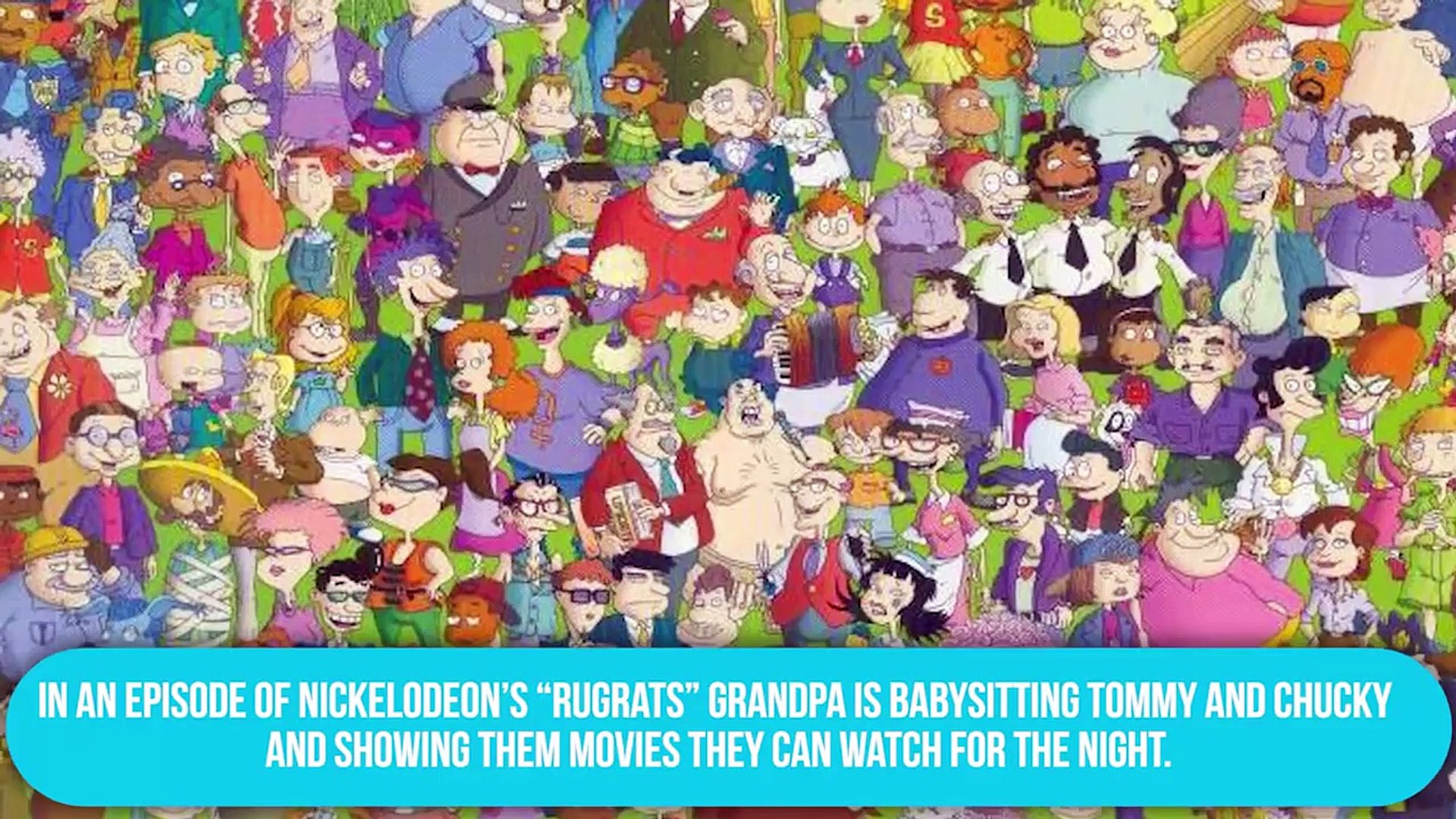 Hidden Adult Jokes in Kids TV Shows