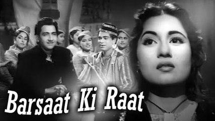 Barsaat Ki Raat | Full Hindi Movie | Madhubala, Bharat Bhushan, Shyama