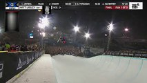 Matt Ladley wins first Snowboard Pipe X Games gold