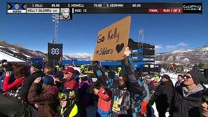 13-year-old Kelly Sildaru wins X Games gold