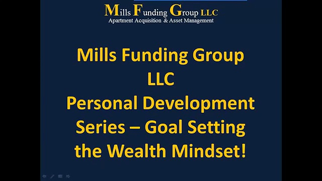Personal Development Drive-By Education: Goal Setting the Wealth Mindset