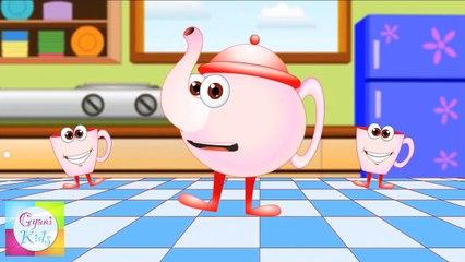 I am a little teapot Nursery Rhyme   Cartoon Animation Songs For Children