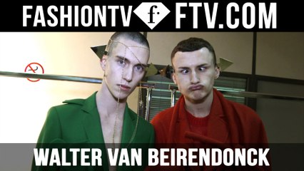 Walter Van Beirendock F/W 16-17 trends | Paris Fashion Week : Men F/W 16-17 | FTV.com
