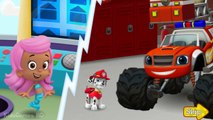 Paw Patrol Full Episodes - Nick Jr FireFighters - Bubble Guppies & Paw  Patrol Cartoon Game