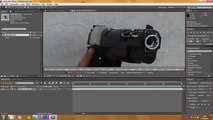 3d Muzzle Flash Tutorial - Adobe After Effects (advanced) Clip2-2