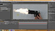 3d Muzzle Flash Tutorial - Adobe After Effects (advanced) Clip4-4