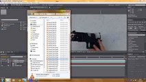 3d Muzzle Flash Tutorial - Adobe After Effects (advanced) Clip5-5