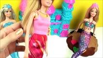 Barbie em Barbie Sereia com Massinha de modelar Play Doh ♥ Completo em Portugu