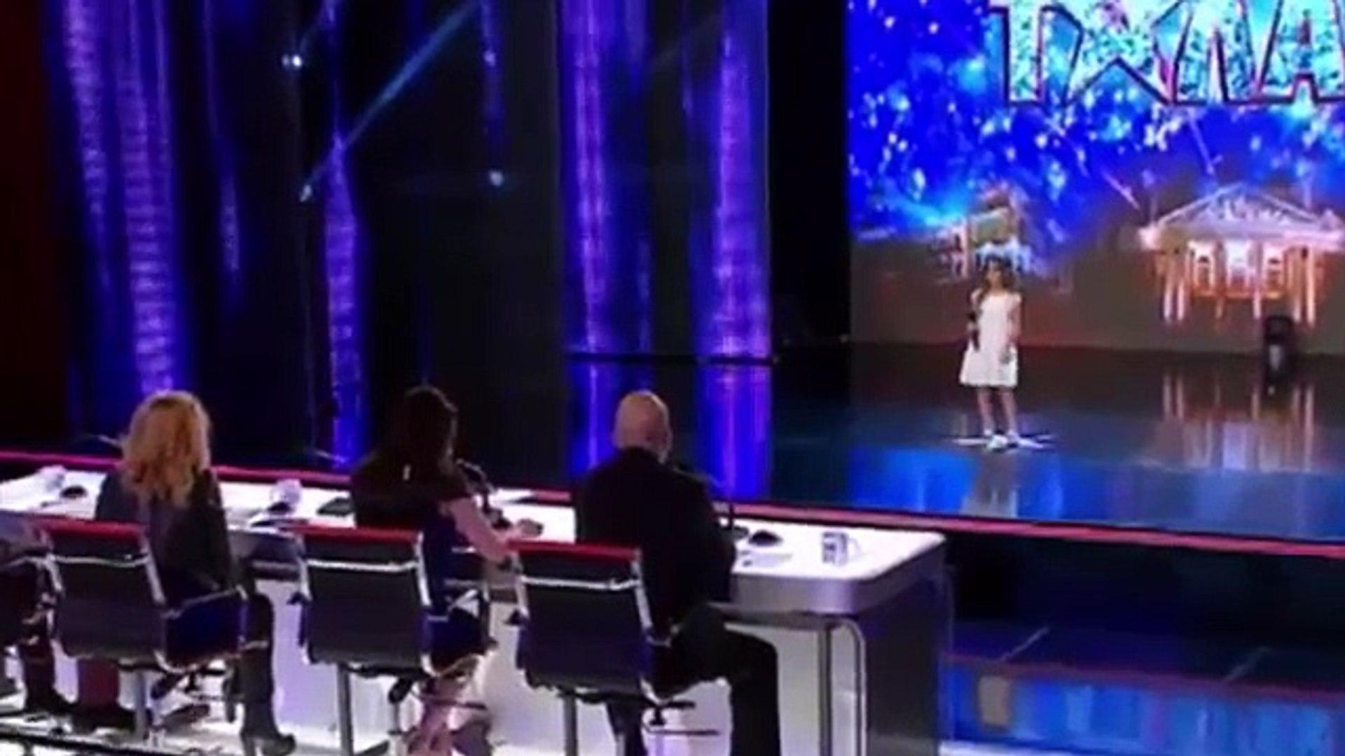 "Real Talent Little Girl (Поля Иванова) Singing ""LISTEN"" by Beyoncé"