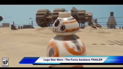 LEGO Star Wars The Force Awakens Teaser leak