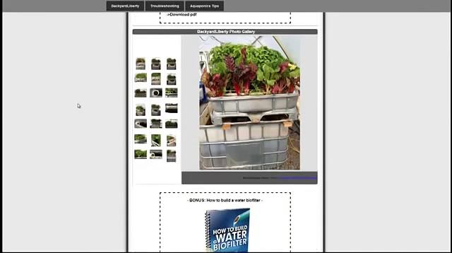 Backyard Liberty Aquaponics System Review – Easy DIY Aquaponics System Guide