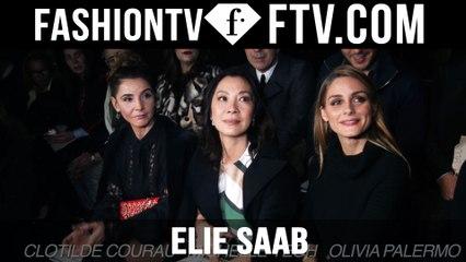 Elie Saab Arrivals | Paris Haute Couture S/S 16 | FTV.com