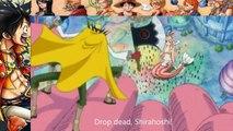 One Piece 537 Luffy vs Vander Decken