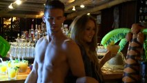 Ex On The Beach: Geordie Shore\'s Charlotte and Gaz play EX-rated quiz