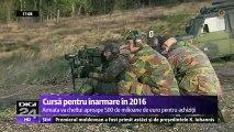 Prioritatea armatei române în 2016 - modernizarea celor două fregate și achiziția a două radare mobile performante. Aproape jumătate de miliard de euro se va investi în echipamente militare, muniţie şi radare la sol.