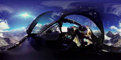 360 degree video! In the Cockpit of a Hawker Hunter Fighter Aircraft!