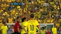 Salida de Ronaldinho del partido Barcelona SC vs Universidad de San Martin Noche Amarilla 2016 (Latest Sport)