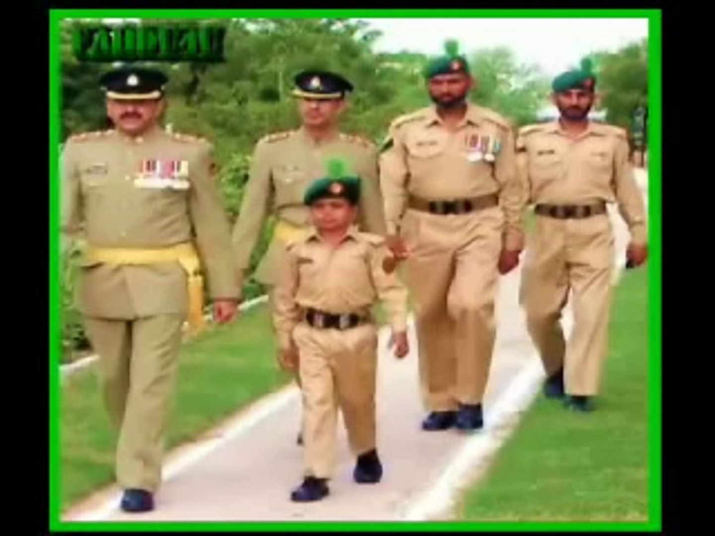 Child joins Pakistan-Army for 1 day- Blood Cancer victim's last wish from life