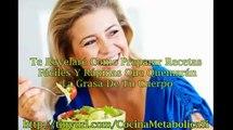 Alimentos Acelerar Metabolismo Para Adelgazar | Cocina Metabolica