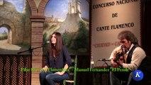 Flamenco フラメンコ: Pilar Rios La Flamenkita por mariana - #Carmona XXX Concurso N. Cante #Flamenco