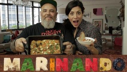 Falafel frito e assado (com João Gordo)