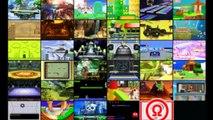 Smash Girls Fight 3 - Zelda Vs Peach Vs Rosalina Vs Palutena - Super Smash Bros 3DS