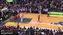Gordon Hayward Misses the Game Winner Bulls vs Jazz NBA Highlights February 1, 2016 {HD} NBA 2015 1