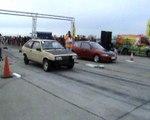 Lada Samara [StreetSamar] Vs. Honda Civic VTI Drag Race