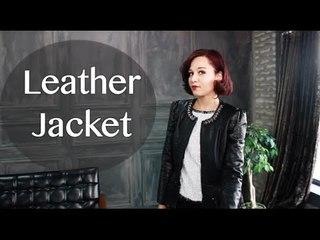FAD: Rocking Fall Leather Styles 가을 가죽 패션