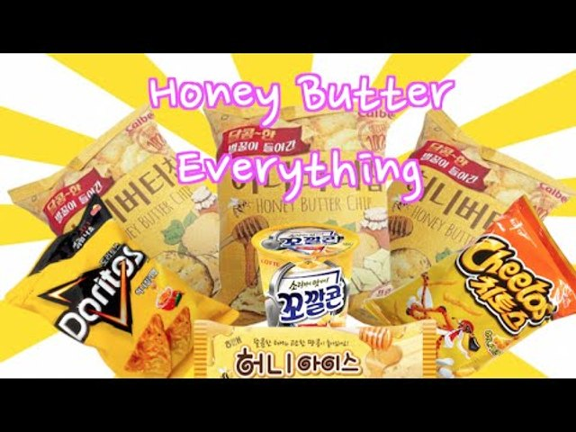 Korean Honey Butter Craze | Stuff You Need To Try!
