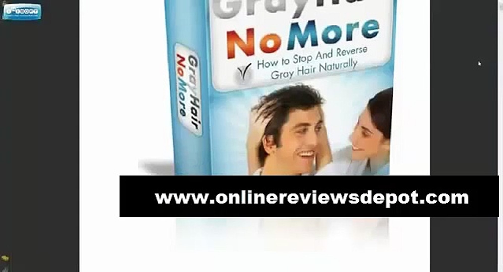 How to stop and reverse Gray hair naturally - gray hair no more reviews