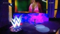 Divas Championship: Nikki Bella © vs. Naomi vs. Paige