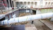 La grande pirogue de retour au Musée de l'Afrique centrale de Tervuren