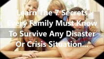 Family Survival System Review   Amazing Family Survival System Review By Frank Mitchell
