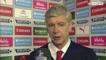 Arsene Wenger post match Arsenal Southampton