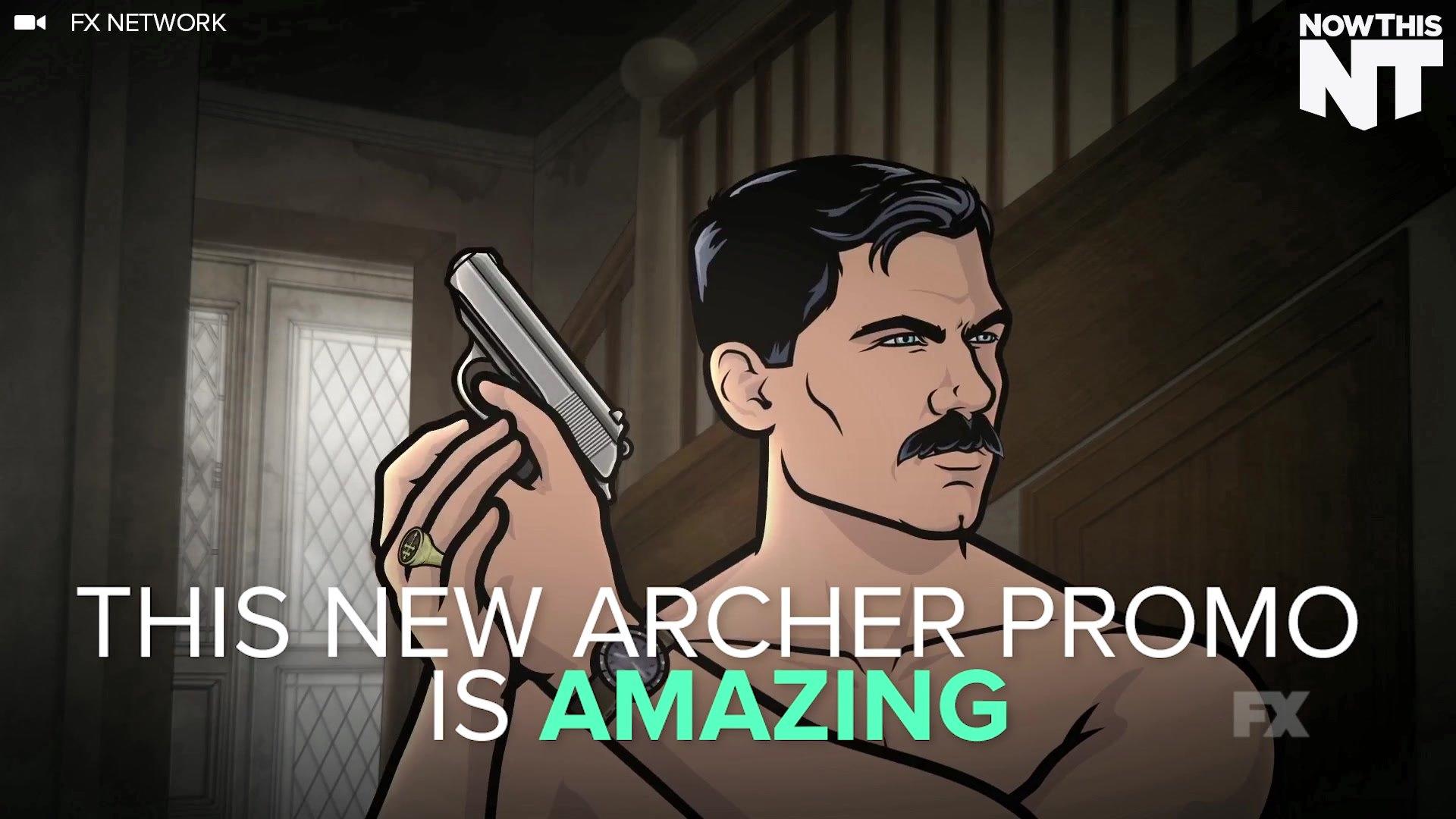Archer Parodies Magnum P.I. In New Promo