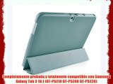 VEO | Funda Ultra Slim Para Samsung Galaxy TAB 3 10.1 Smart Case Cover Inteligente GRIS