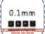 MiNGFi 0.1mm TPU franc?s Cubierta del teclado / Keyboard Cover AZERTY para MacBook Pro 13 15