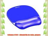 Fellowes 91441 - Alfombrilla de rat?n p?rpura