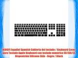 MiNGFi Espa?ol Spanish Cubierta del teclado / Keyboard Cover para Teclado Apple Keyboard con