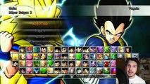 Dragon Ball Raging Blast 2 : VEGETA SUPER SAIYAJIN 3 VS GOKU SSJ 3 - VEGETA SALVA EL MUNDO