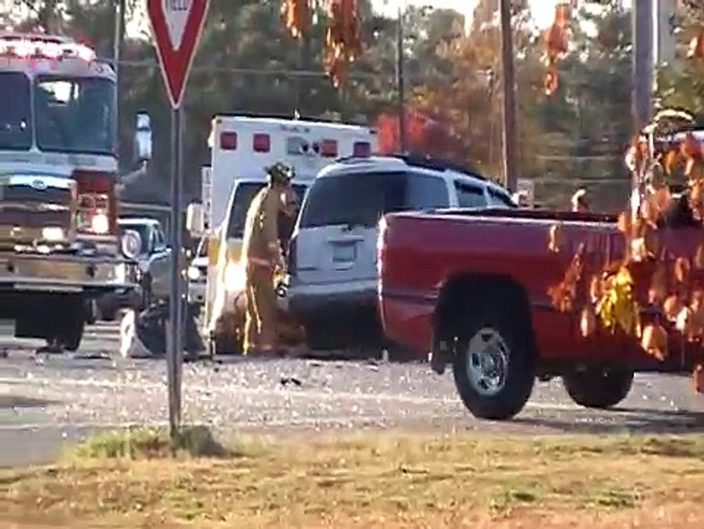 Car Crash In Goldsboro, North Carolina