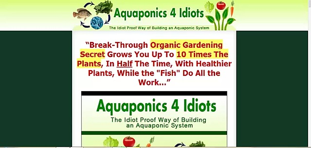 Aquaponics 4 Idiots Review – Is it Really That Good?