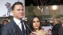 Channing Tatum And Stunning Wife Jenna Dewan At 'Hail Caeser' Premiere