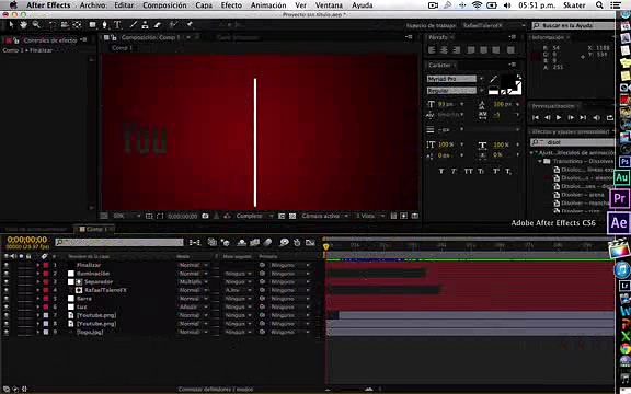 how to make after effect INTRO_clip1