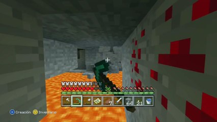 Minecraft Supervivencia En Xbox 360 - El Zombie Amoroso Y La Cueva Infinita ! #13