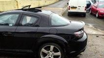MAZDA RX8 231 - LM54 - Black with Black Interior by Rx8 specialist UK  Warren Court Rotaries