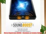 KHOMO Funda iPad Mini 4 - Carcasa Piel Negra Ultra Delgada con Soporte y Smart Cover para Nuevo